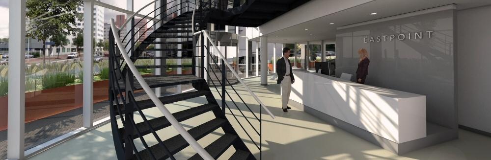 Renovatie kantoor Eastpoint Rotterdam