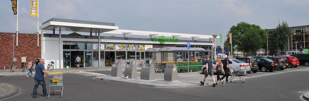 Herontwikkeling winkelcentrum de Greiden Heerenveen