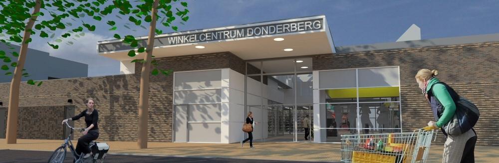 Herontwikkeling winkelcentrum Donderberg Roermond