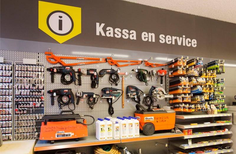 Kassa en Services (Custom)