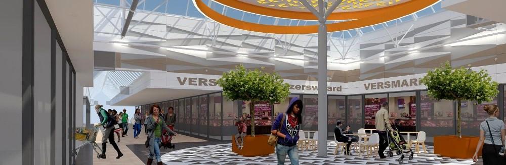 Totaalvisie revitalisatie winkelcentrum Keizerswaard Rotterdam