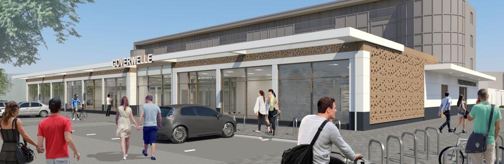 Uitbreiding winkelcentrum Goverwelle Gouda