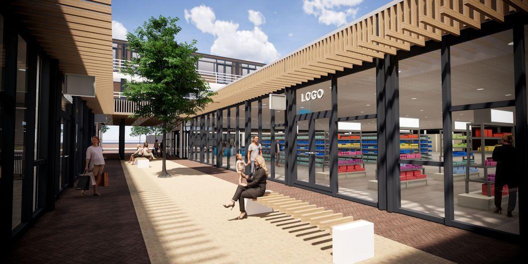 Winkelcentrum Vleuten renovatie