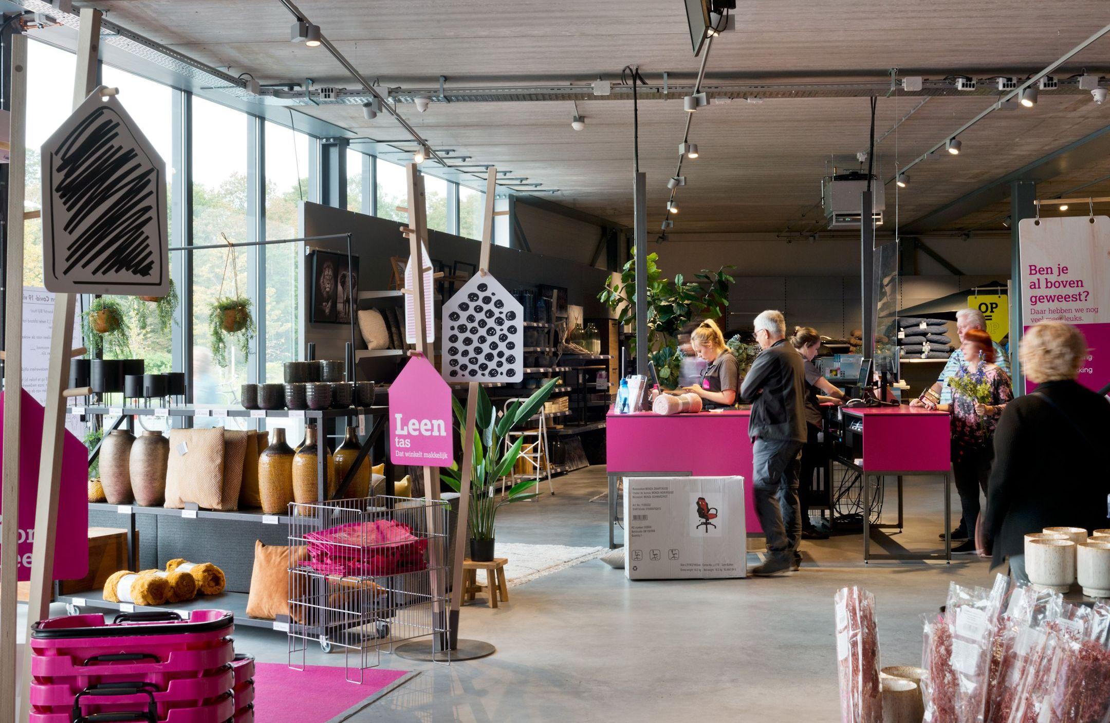 Leen Bakker Maastricht winkellay-out