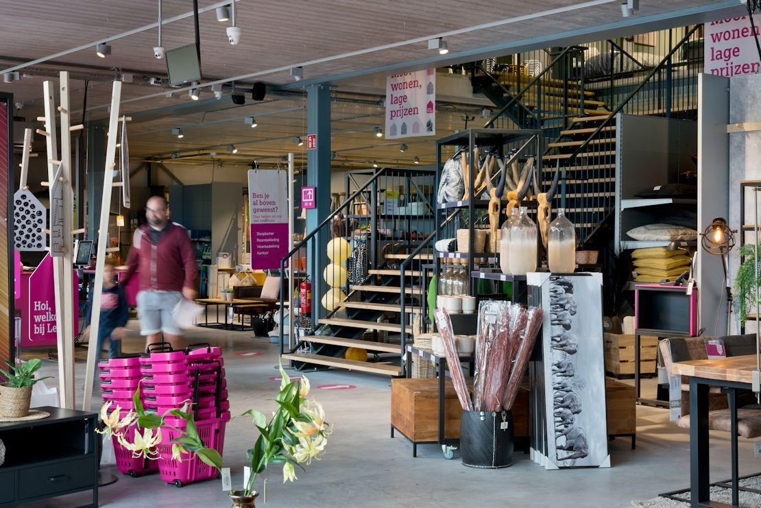 Leenbakker Maastricht Winkellay-out